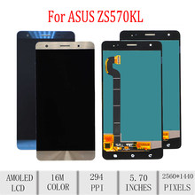 Original For ASUS Zenfone 3 Deluxe ZS570KL LCD Display Touch Screen Digitizer For Asus ZS570KL Display Replacement Z016D Z016S(China)
