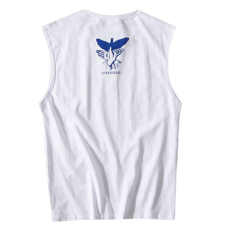 2019 Brand street hip hop printing Men Tank Top Sleeveless Vest LC25 1011