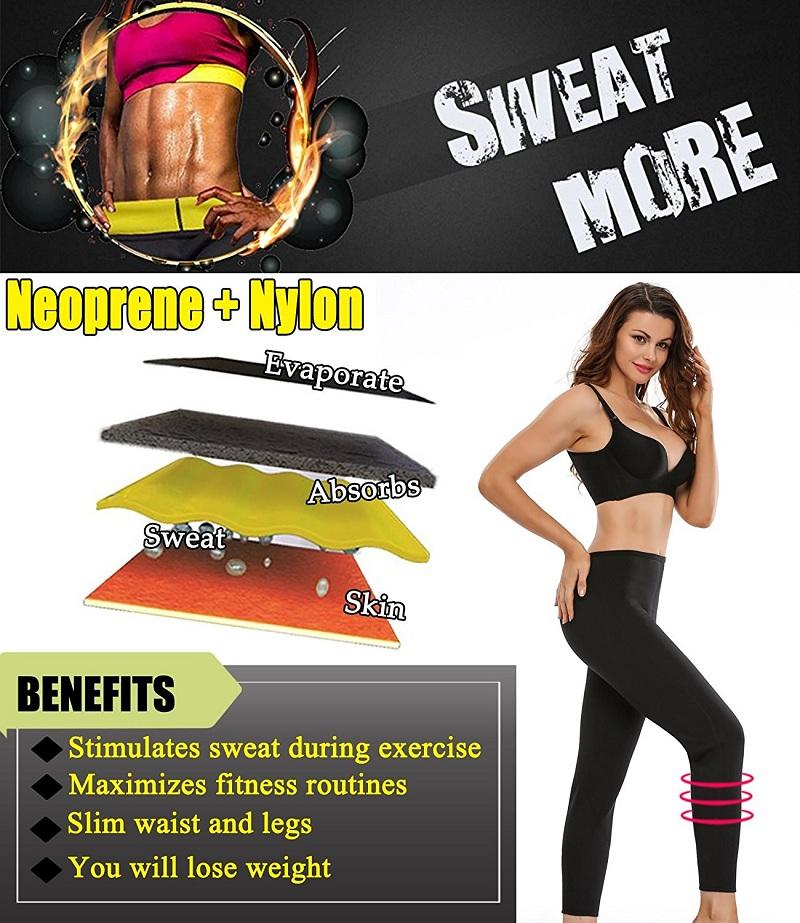 NINGMI Slimming Pants Sweat Sauna Hot Body Shaper Control Panties Women Camouflage Fitness Legging Neoprene Tourser Weight Loss (3)