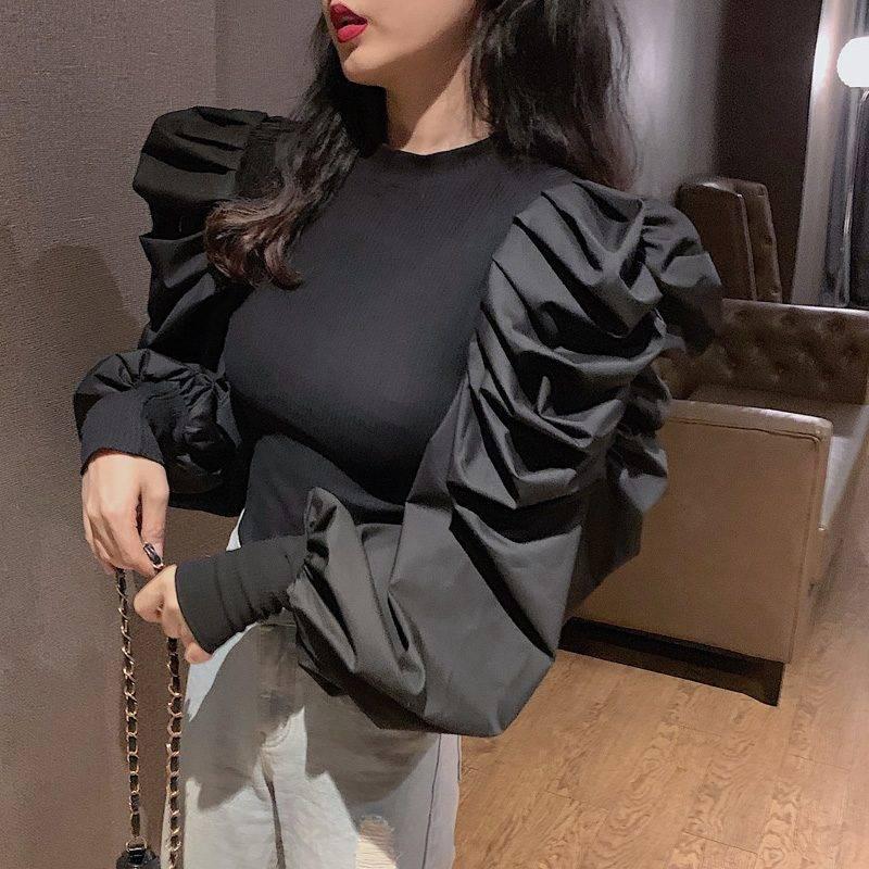 Платье Рукава Фонарики Тренд 2021