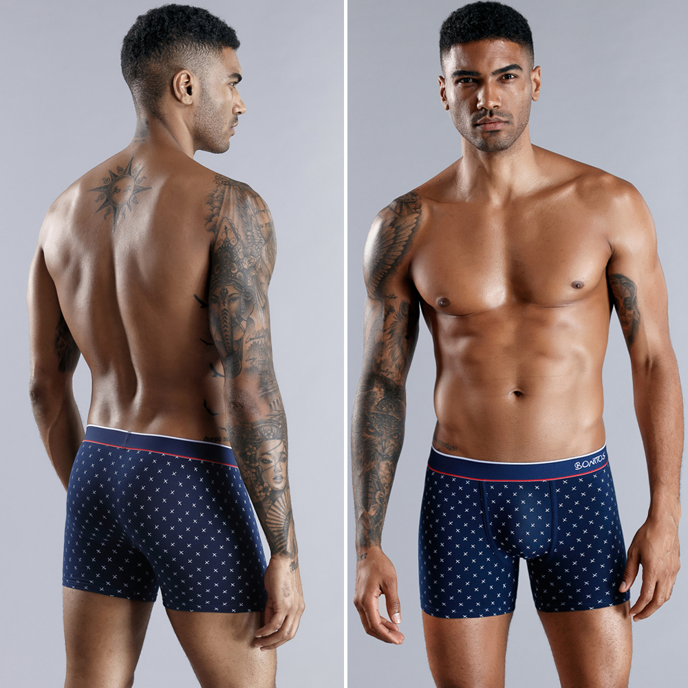 Boxer Men Boxer Shorts Men Underwear Male Men's Underwear Boxers Homme Cotton Boxershorts Panties Underpants Man for Family Sexy