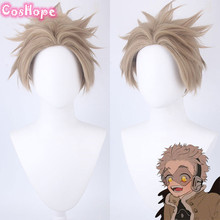 Wig Cosplay Academia Anime Short Synthetic-Wigs Linen Heat-Resistant My Hero