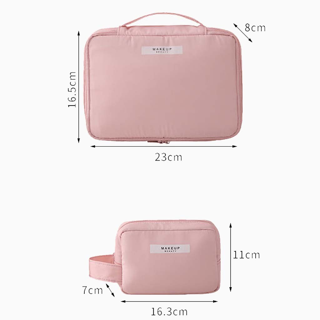 Aelicy Cosmetic Case Suitcases Multi-storey Purse Makeup Cosmetic Bag Toiletry Pouch Travel Portable Makeup Bag 1111