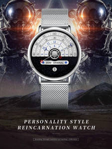 Male Wristwatch Cloc...