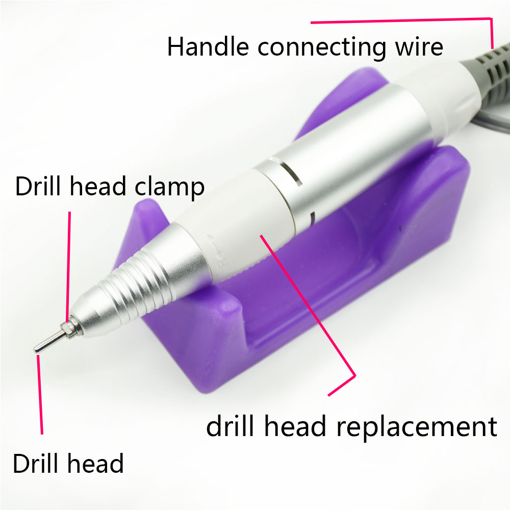 35000RPM Professional Nail Drill Equipment Manicure Machine for Manicure Drill Tools Kits With Milling Cutter Nail Art Tool