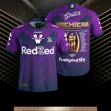 Melbourne Storms 2020 Premiers Jersey RUGBY JERSEY Size: S--5XL