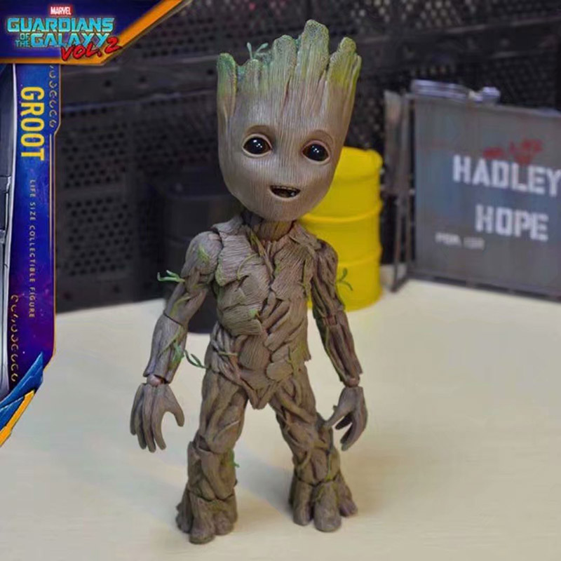 -Mega Special 4 Life-Size Groot Figurine 28 cm Guardians of the Galaxy 2