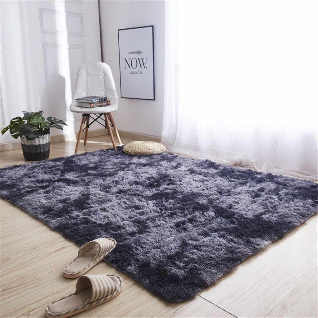 Modern Nordic Area Rugs Ultra Soft Shaggy Cozy Nursery Rug Home Room Plush Carpet Decor
