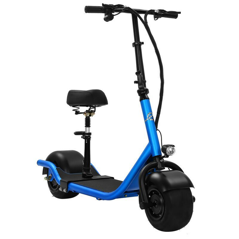 Electric Scooter Bike Two Wheels Electric Scooter 36V 350W Motorcycle Portable Smart Electric Citycoco Scooter With Seat         (5)