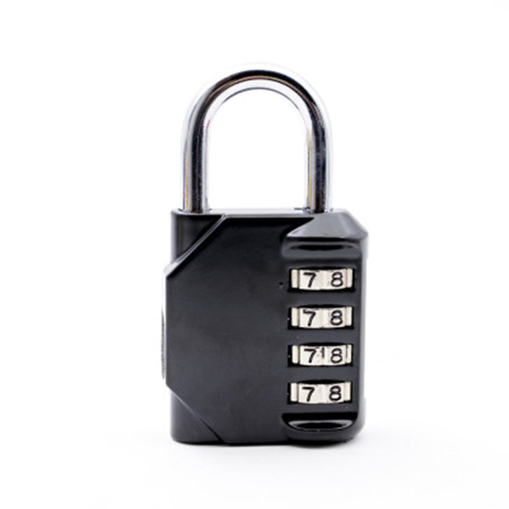 Password Lock Cabinet Combination Dial-Digit Gym Metal Suitcase Luggage Cupboard Swimming-Pool title=