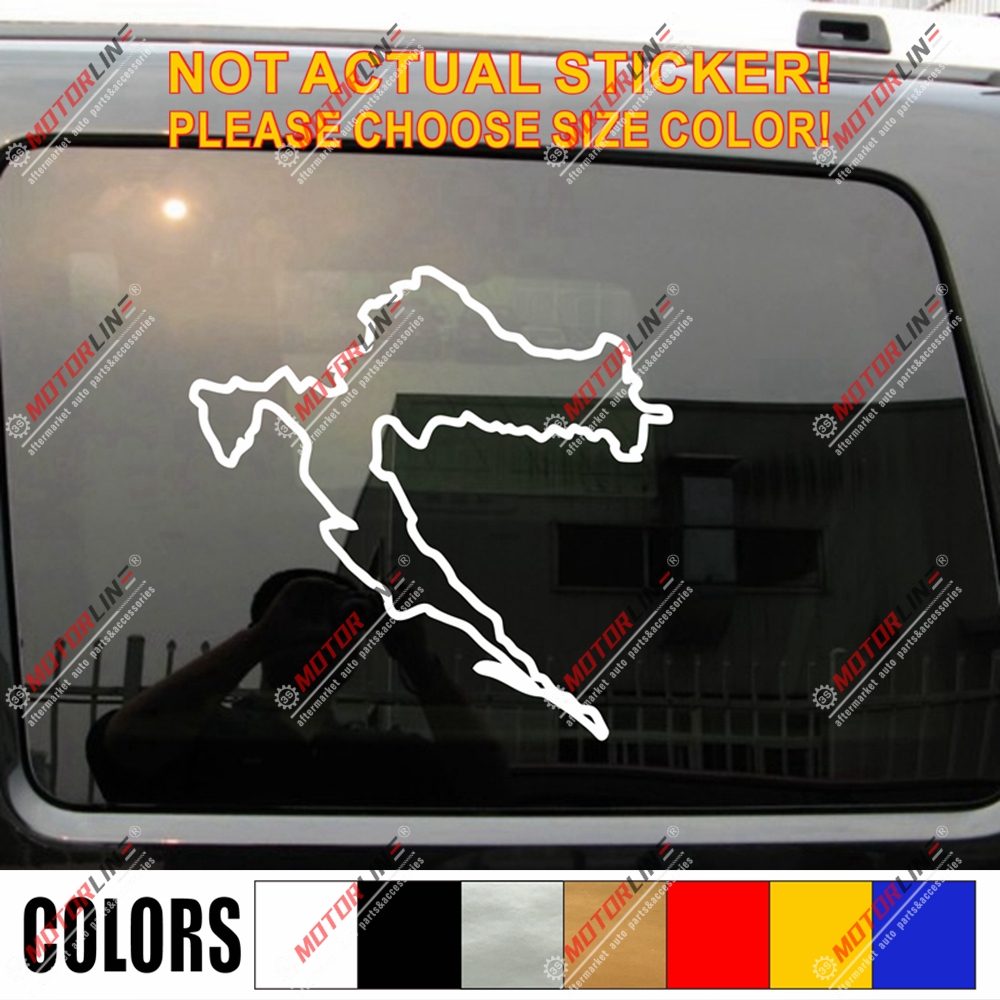 Sticker coat of arms flag car vinyl decal outdoor bumper shield japan