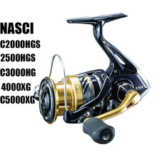 SALTEWATER Fishing-Reels SHIMANO C2000HGS High-Speed 4000XG Gear NASCI Ratio-6.0/6.2