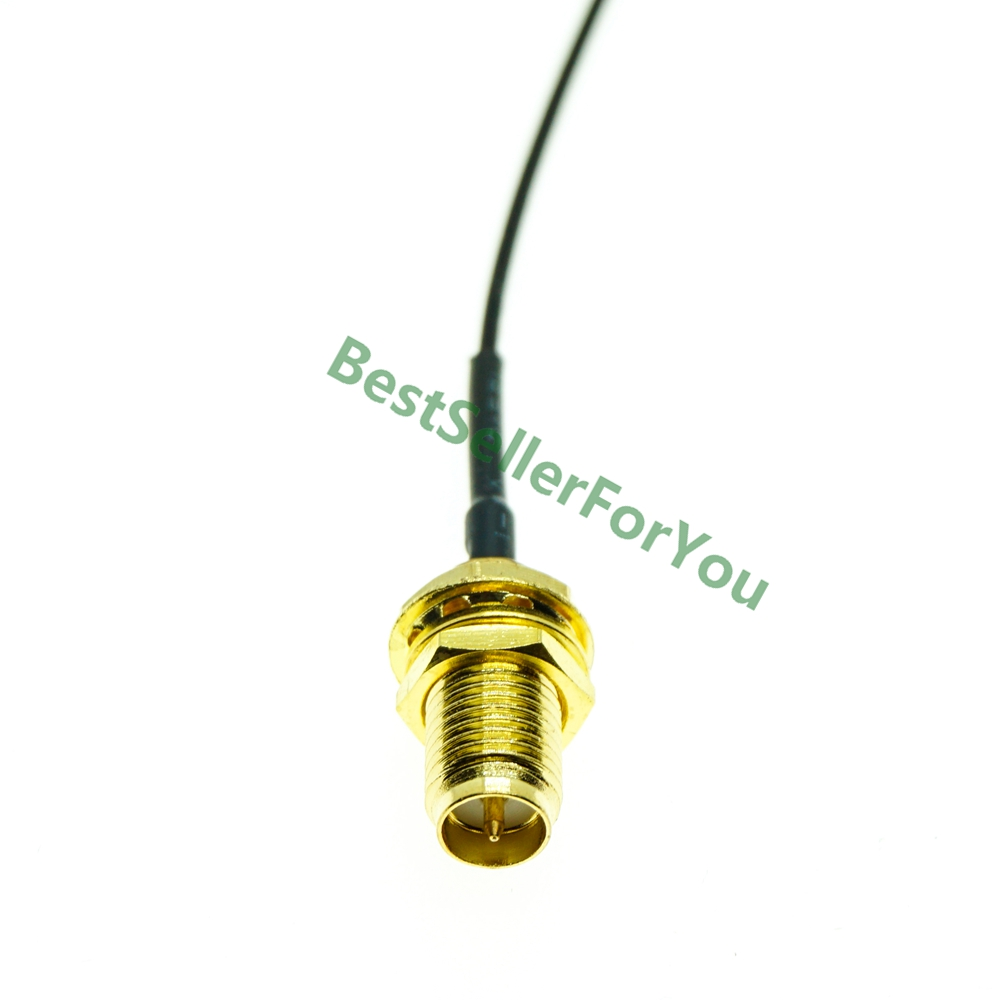 U.FL IPX IPEX UFL to RP-SMA SMA Female Male Antenna WiFi Pigtail 1.13  Cable ufl 1.13mm Pick Your Length