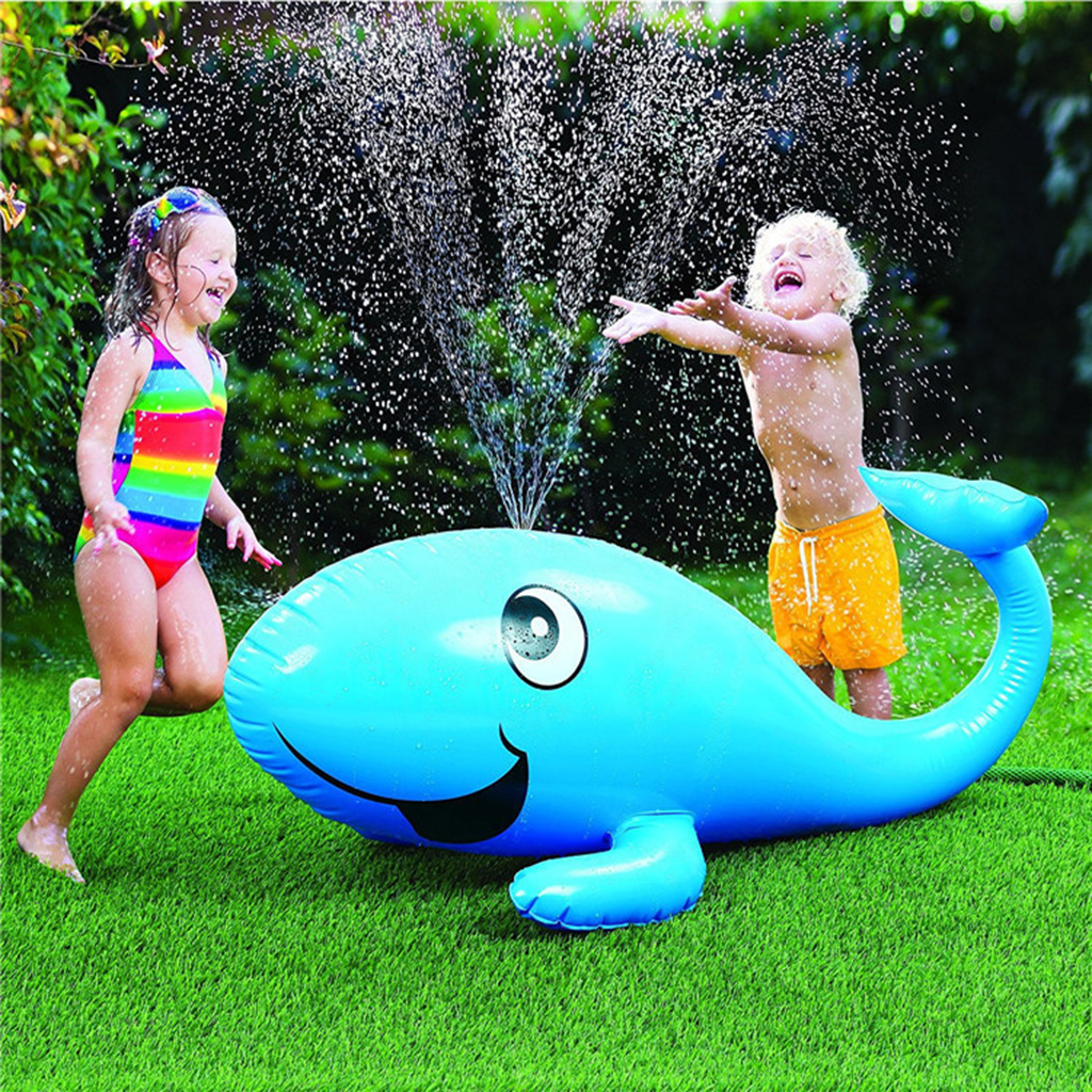 Summer Fun Garden Kids Thicken Water Inflatable Dolphin Toy Play Beach Gifts