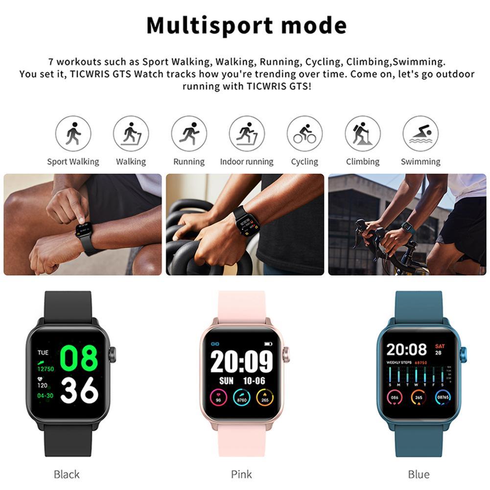 Person - IP68 Waterproof Smart Watch Men Round Screen Heart Rate Blood Pressure Monitoring Smart Watch