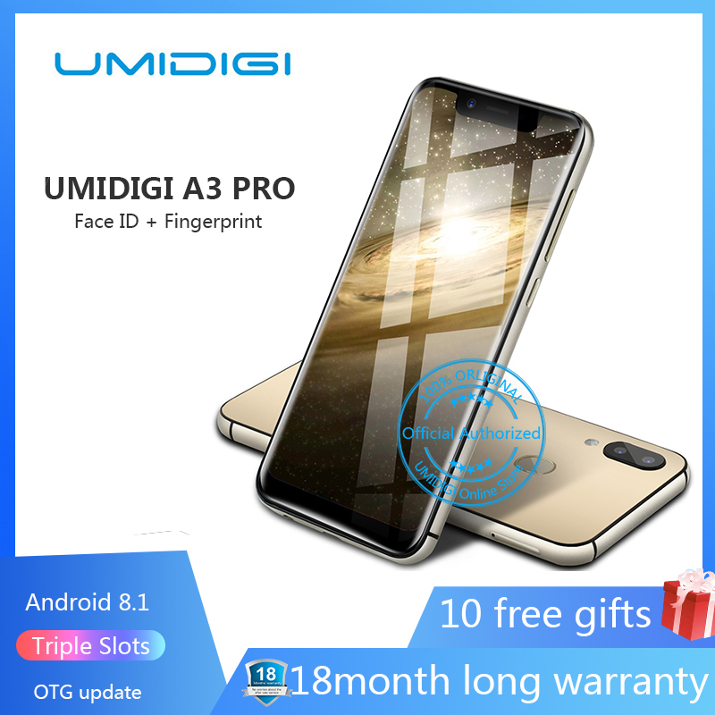 UMIDIGI Mt6739 32GB 3GB Quick Charge 4.0 Quad Core Fingerprint Recognition 13mp New 19:9-Fullscreen title=