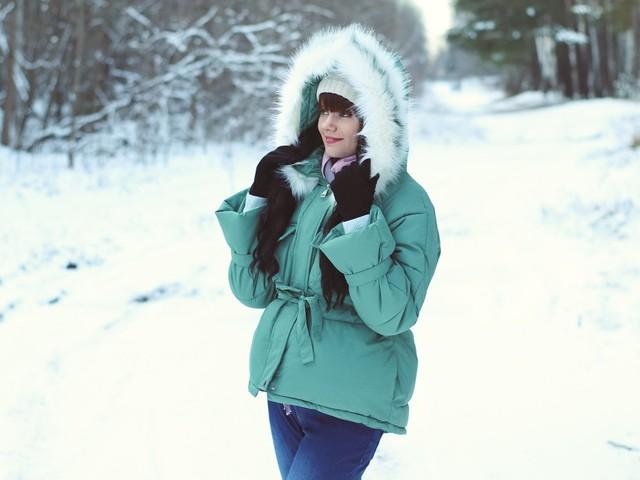 Хорошенькая куртка с капюшоном Xiaoxiao - цена