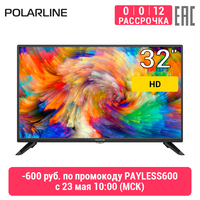 "Телевизор 32"" Polarline 32PL12TC HD"