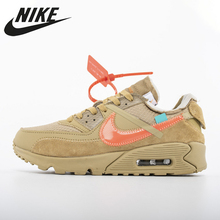 OFF-WHITE x Nike Air Max 90 Outdoor Sports Running Shoes AA7293-200