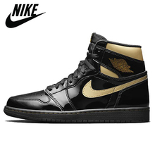 Shoes-Trainer Basketball-Shoes Scott Sports-Sneakers Metallic Air-Jordan Gold Retro Black