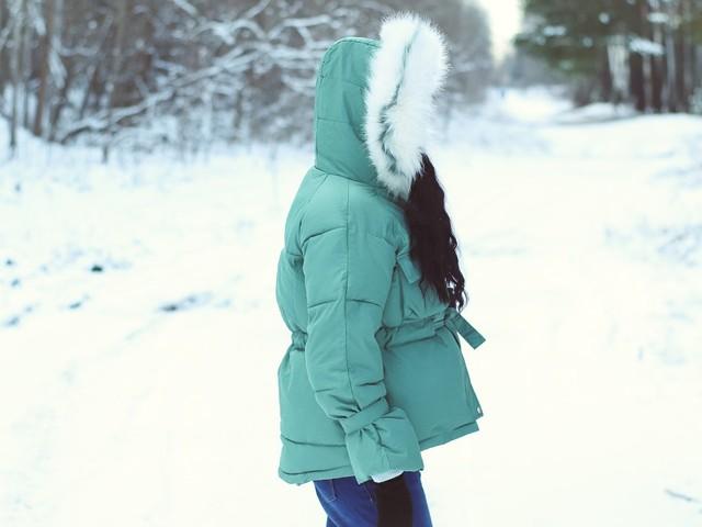 Хорошенькая куртка с капюшоном Xiaoxiao - купить