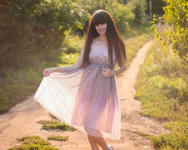 Волшебное фатиновое платье xiaoxiao - цена