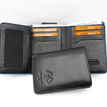 Polo West Genuine Leather Men 'S Wallet, Small Dİk Model