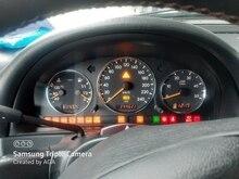 NO LOGO Chrome Dial Gauge Speedometer Anneau Instrument Panneau Anneau 1997-2001 for Mercedes Benz W163 ML Classe