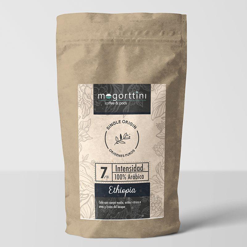 Etiopia Sidamo Mogorttini одного происхождения. Кофе в зернах 500гр.