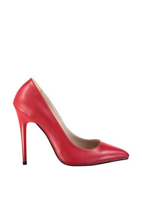 Red Women's High-Heeled Shoes TAKSS19CS0007 title=