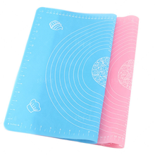 New Silicone Mat Baking Cakes Pans 100% Non-Stick Silicone Pad Table Grill Pad Jelly Fondant Cooking Plate Kitchen Tools