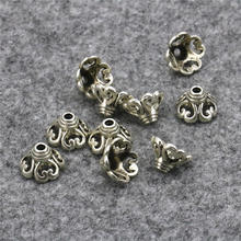 50PCS Hot Sale Torus Shaped Lucky DIY Loose Finding Accessories Jewelry Making Women Women Girls Gifts Crafts Copper 6x10mm(China)