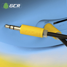 GCR AUX Cable 3.5mm Mini Jack Wire Car Audio Stereo Jack to Jack 3.5 Plug Sound Cord Phone Speaker Headphones Amplifier MP3/MP4