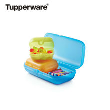 Tupperware Clear Transparent Microwave Ventilated Plate Dish Food Cover Steam Storage Containers free delivery to Russia hit