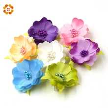 10pcs Artificial Fake Flowers High Quality Real Touch Flower Head For Wedding Living Room Home decorations Wedding Decorations