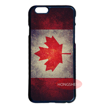 Retro Canada Flag Cover Case for LG G3 G4 iPhone 4S 5S 5C 6 6S 7 Plus iPod 5 Samsung Note 2 3 4 5 S3 S4 S5 Mini S6 S7 Edge Plus