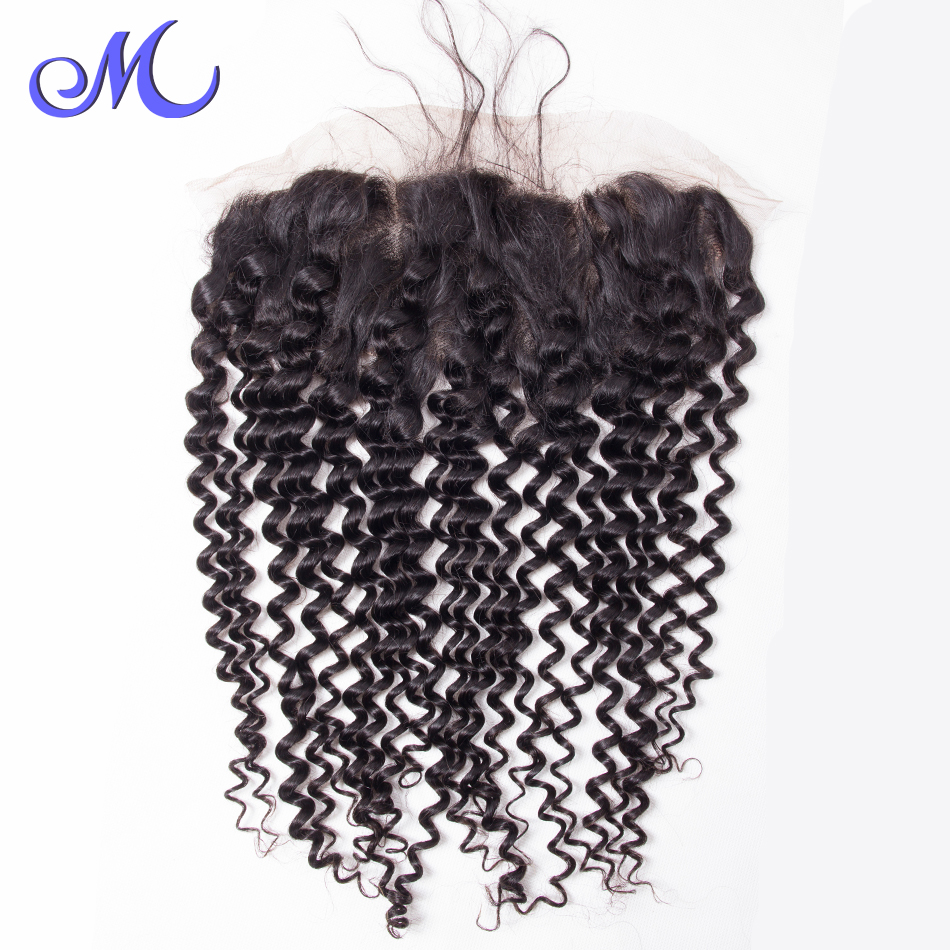 13X4 Lace Frontal Peruvian Deep Wave Frontal Wet And Wavy Lace Frontal Closure 130% Density Aliqueen Hair Ear To Ear Closure<br><br>Aliexpress