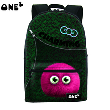 ONE2 design cute patterned pupil backpack children motorcycle backpack popular manufacturing backpack fashion export backpack(China)