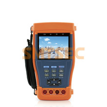 "3.5"" Full View TFT LCD CCTV Camera Tester Color Bar Generator UTP Cable Test IP Address Scan PoE Test PTZ Control (ST-983 )"