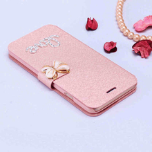 luxury case for Apple iPhone 4 4s flip cases i4 Leather wallet for iPhone 4s cover Low price excellent products(China)