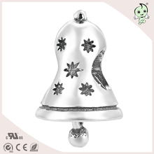Flower bell fashion style S925 Sterling Silver beads or charm for bracelts(China)