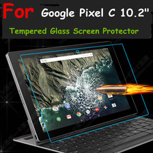 "Ultra thin HD Clear 0.26mm 2.5D Premium Tempered Glass Screen protector For Google Pixel C 10.2"" Protective Film"