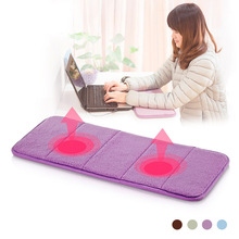 Free Shipping Elbow pads slow rebound memory cotton wrist support pad hand pad small mats carpet computer keyboard pad(China)