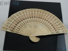 2 X Silk good Style Polka Dots / Oriental Dance Party Wedding Folding Hand Fan