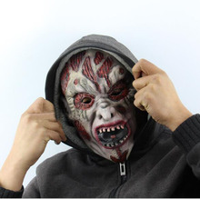 Hot Sale New Halloween Cosplay Latex Bloody Zombie Mask Melting Face Walking Dead Scary Demon Party Mask Mardi Gras Ball Masks