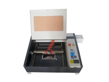 4040 50W CO2 laser cutting machine super quality with 50W laser tube honeycomb equips(China)