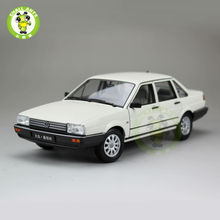 1:18 Scale VW Volkswagen Santana,Passat B2 Diecast Car Model Toys,Welly FX models White(China)