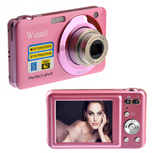 "5Pcs/Lot DHL Free New 20Mp Max 5X Optical Zoom Digital Camera 2.7"" Screen 720P HD Video Camera 9MP CMOS Sensor 800Mah Li-Battery"
