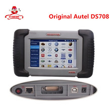 Original Autel DS708 Supports Asian Euro American Russian Cars + multi Languages 100% Original Autel Diagnosis autotool