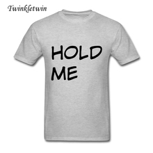 Hold Teens' Tshits Man Cool Short Sleeve Mens Tshirts Round Neck 100% Cotton Top Tees High Quality Large Size XS-XXXL Homme